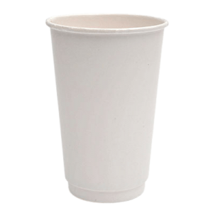 Packoflex Paper Double Wall Cups 16OZ White 25PCS 0530051-3 0150210038