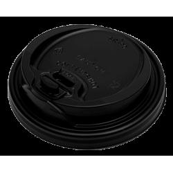 Dimexsa Plastic Cip Lids Reclosable For 14OZ-16OZ Cups Black 100PCS 0091016-21 0150210034
