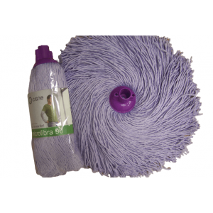 CISNE Household Microfibra Wet Mop 180GR Purple 100795-01 8410347007952
