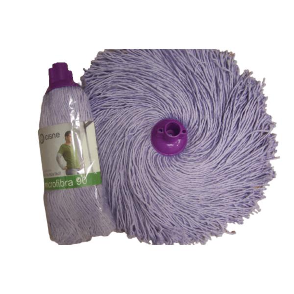 CISNE Household Microfibra Wet Mop 180GR Purple 100795-01 8410347007952