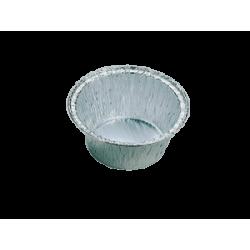Θαλασσινός Aluminium Round Container Cup Cake S-1 6PCS 8501 5202221009557