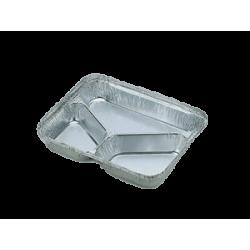 Θαλασσινός Σκεύος Αλουμινίου Τριπλό R81-L 100 Tεμάχια ΕΜ.5904 0150510015
