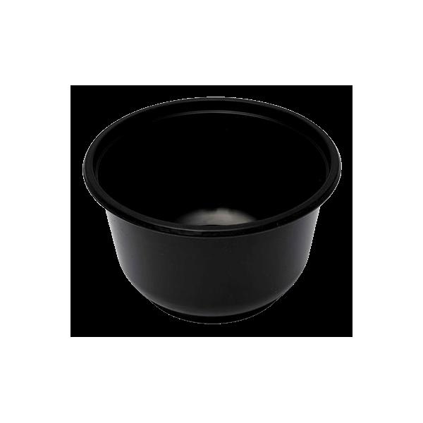 Θαλασσινός Utensil Round Black Microwave 700ML 50PCS ΕΜ.6246 0150540010