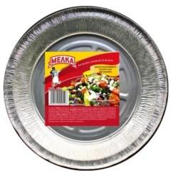 ΜΕΛΚΑ Aluminium Container Round With Lid 3Pcs No533 8533 5202221009526