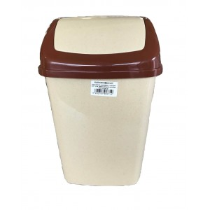 ΚΥΚΛΩΨ Bin With Swing Lid Beige 20Lt 004301402 5202707003727