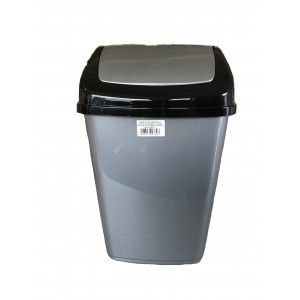 ΚΥΚΛΩΨ Bin With Swing Lid Grey 20Lt 004301403 5202707003727