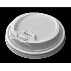 Dimexsa Plastic Cip Lids Reclosable For 8OZ/12OZ Cups White 100PCS 0091014-21 0150210074