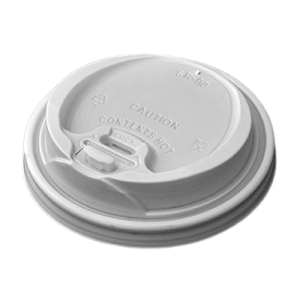 Dimexsa Plastic Cip Lids Reclosable For 8OZ/12OZ Cups White 100PCS 0091014-21 0150210074