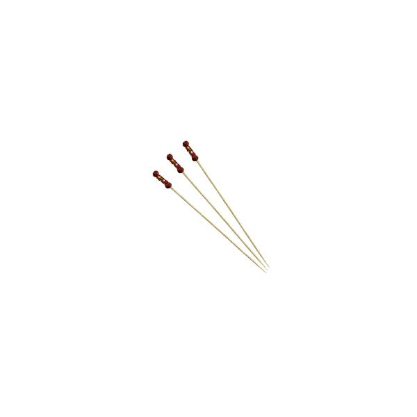 OEM Bamboo Braided Picks 9Cm Red 100Pcs 24-05-092 6930254545009