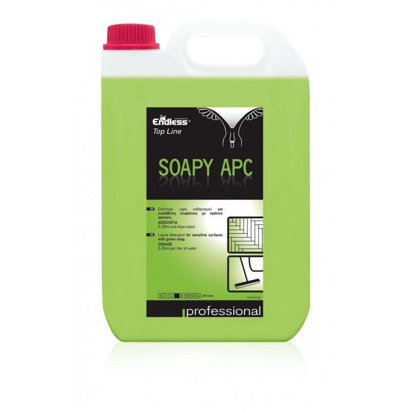 Endless Top Line Soapy Apc All Purpose Cleaner With Green Soap 5Lt 2905350100 0130270043