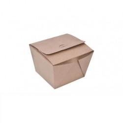 Αφοί Ρόη Χάρτινο Κουτί Burger Box Easy Open Κραφτ Ψηλό 45TEM 9411 0150780025