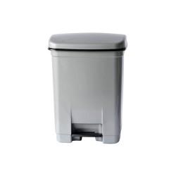 OEM Viomes Plastic Rubbish Bin With Pedal 20LT Grey 14112 ΓΚΡΙ 5203493374466