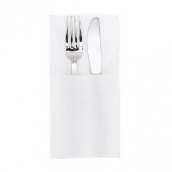 finezza Χαρτοπετσέτα Airlaid Φάκελος Λευκή Slim 80ΤΕΜ 4Σ-ΑΤ-19 0140430025