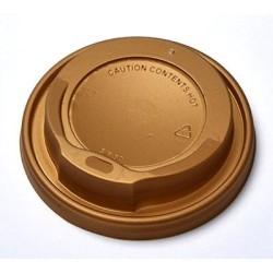 MICHAEL PROCOS Plastic Cip Lids For 14OZ-16OZ Cups Gold 100PCS 10.06.2148 0150210082