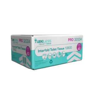 TUBELESS Interfold Toilet Paper 40X265 Sheets 2912032004 3859892832490