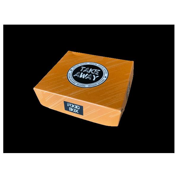 Packoflex Paper Box Food Box No1 Potatoes Orange 000784-1 0150780011