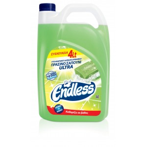Endless All Purpose Cleaner Green Soap 4LT 1200440104 5202995106414