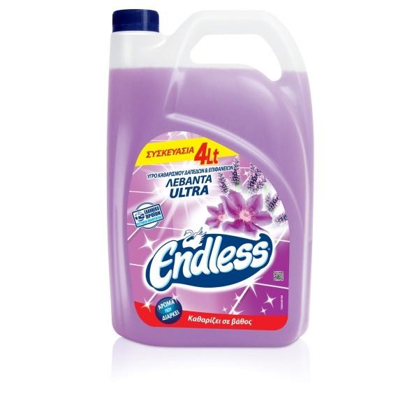 Endless All Purpose Cleaner Ultra Lavender 4LT 1200440102 5202995102904