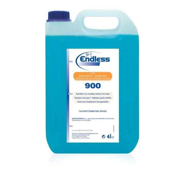 Endless 900 Liquid Rinse For Dishwashing 4LT 1203440900 5202995105028