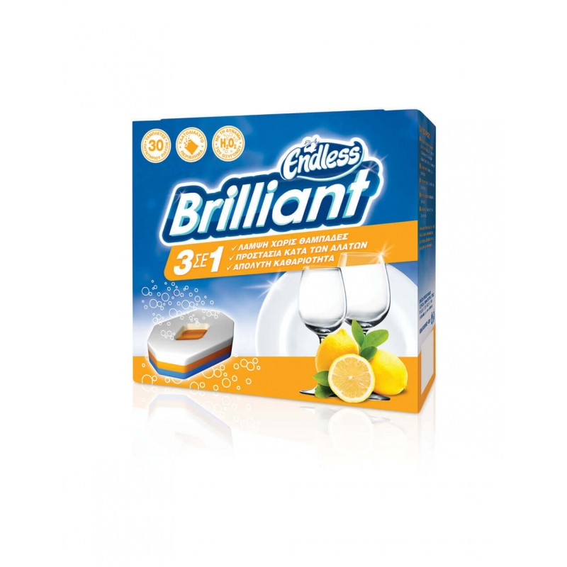 Endless Briliant Dishwashing Tablets 30PCS 2999230102 5202995203298