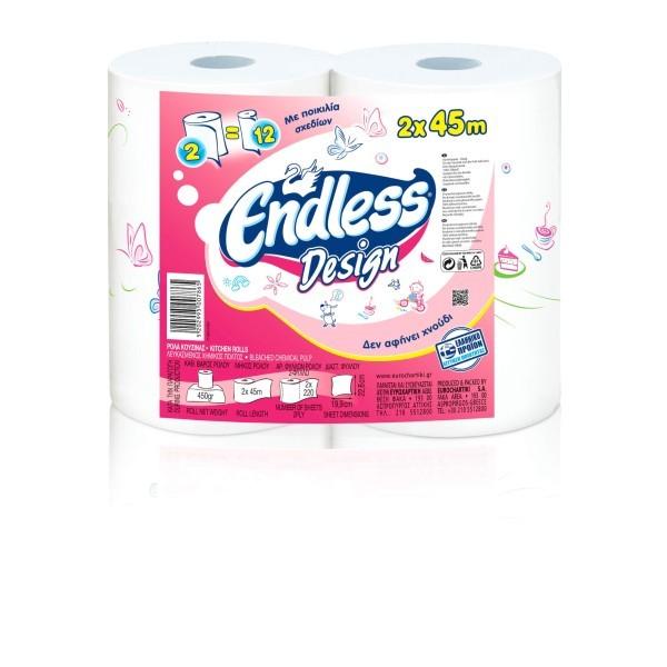 Endless Kitchen Rolls Design 2X45M 1100640607 5202995007865