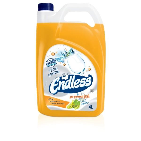 Endless Υγρό Πιάτων Με Ξύδι 4LT 1200440203 5202995102836