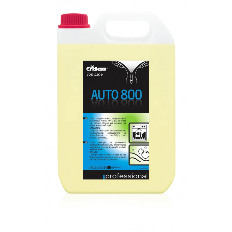 Endless Auto 800 Professional Automatic Dishwashing Detergent 5LT 1205350800 5202995105516