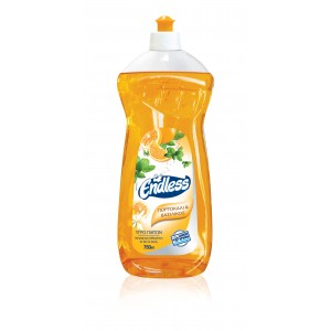 Endless Manual Dishwashing Liquid Orange And Basil 750ML 1200750223 5202995106650