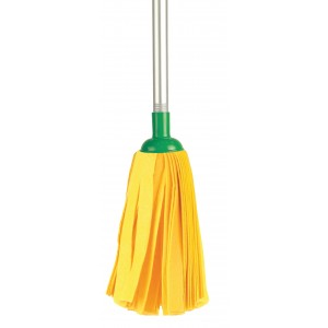 CISNE Household Wet Mop Yellow Strips Super GIGA 100553-01 8410347005538