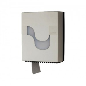 CELTEX Mini Jumbo Toilet Paper Dispenser White 92230 8022650922305