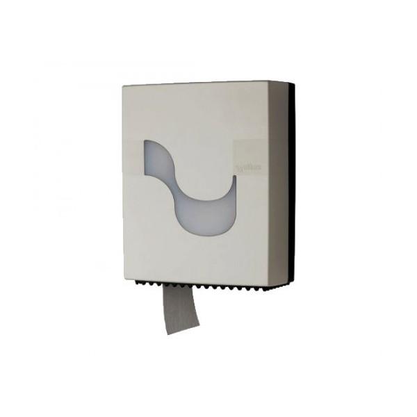 CELTEX Mini Jumbo Toilet Paper Dispenser White 92230 8022650922305
