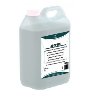 quimxel Aseptic Hydro Alcohol Antiseptic Gel 5LT 0470051 8428446470515