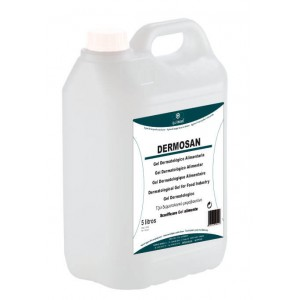 quimxel Dermosan Dermatological Gel For Food Industry 5LT 0010022 8428446100221