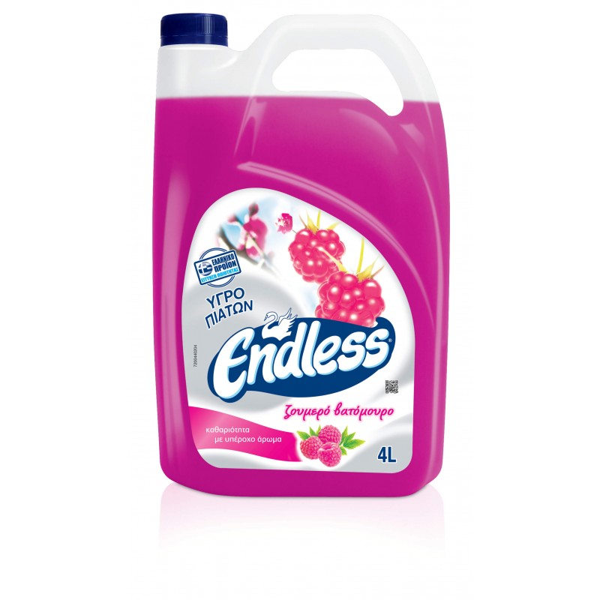 Endless Dish Washing Liquid Berries 4LT 1200440204 5202995102843