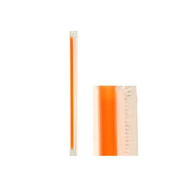 KORPLAST Freddo Straws Orange 1/1 1000PCS 000843 5203991410994