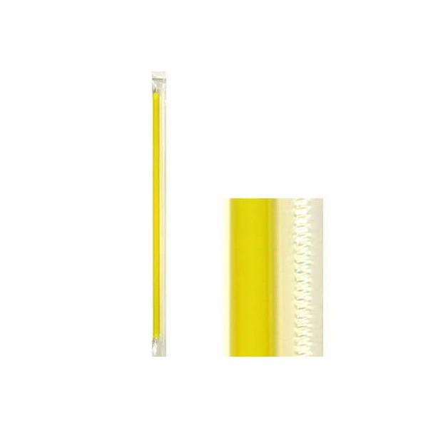 KORPLAST Freddo Straws Yellow 1/1 1000PCS 000844 5203991410994