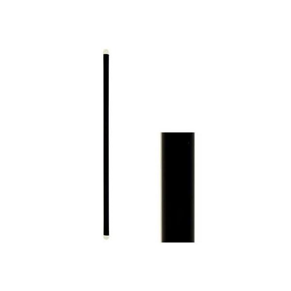 KORPLAST Freddo Straws Black 18,5CM 1000PCS 0057-1 5203991411595