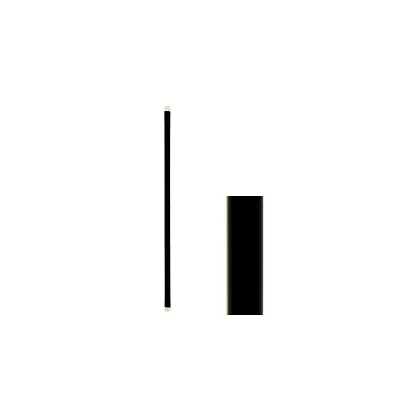 KORPLAST Καλαμάκια Freddo Μαύρα 18,5CM 1000 Tεμάχια 0057-1 5203991411595