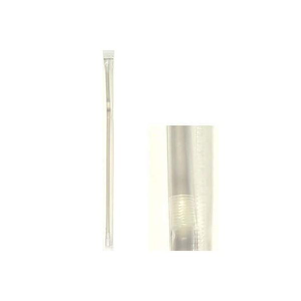 KORPLAST Jumbo Bended Straws Transparent 1/1 1000PCS 000828 5203991410963