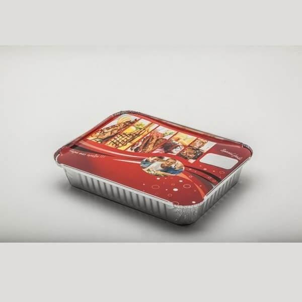 Θαλασσινός Καπάκι Χάρτινο Αλουμινίου R43L-S14B Τυπωμένο 100 Tεμάχια ΚΑΠΑΚΙ R43L-S14B ΤΥΠ 5202054461140