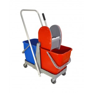 Soufleros Professional Trolley With Two Buckets And Wringer 11105 0160740004