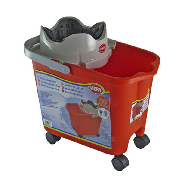 Soufleros Mop Bucket Mery With Wheels 14LT 11206 8411287003226