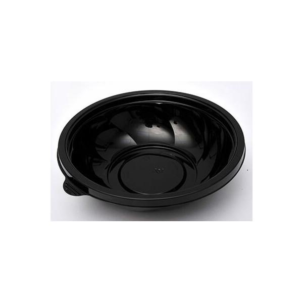 MAC PAC Μπωλ Σαλάτας Στρόγγυλο Μαύρο 650ML 50 Τεμάχια 2-SB-651 0150520000