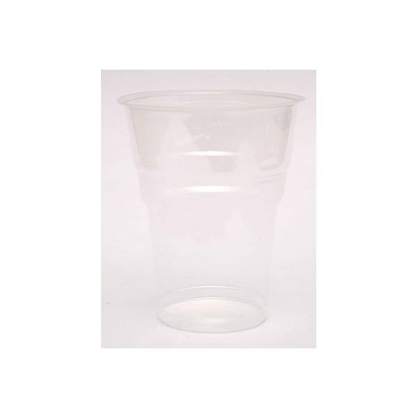 lariplast Plastic Transparent Cups 503/250ML 50PCS 00095-LP 5202287005050