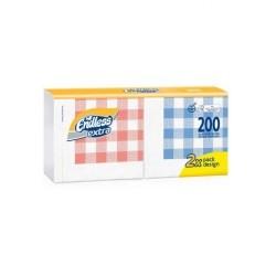 Endless Napkin Extra 200PCS Double Checkered 33Χ33 1100330201 5202995009418
