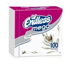 Endless Χαρτοπετσέτα Mega 100 Tεμάχια Ελιά 1100330041 5202995008824
