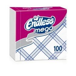 Endless Napkin Mega 100PCS Checkered Blue 1100330043 5202995008848