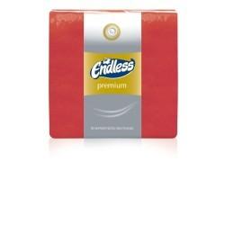 Endless Χαρτοπετσέτα Premium Κόκκινη 50 Τεμάχια 33X33 1100330031 5202995008367