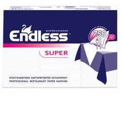 Endless Restaurant Napkins Super Satine 750PCS 24X24 1100240002 5202995000521