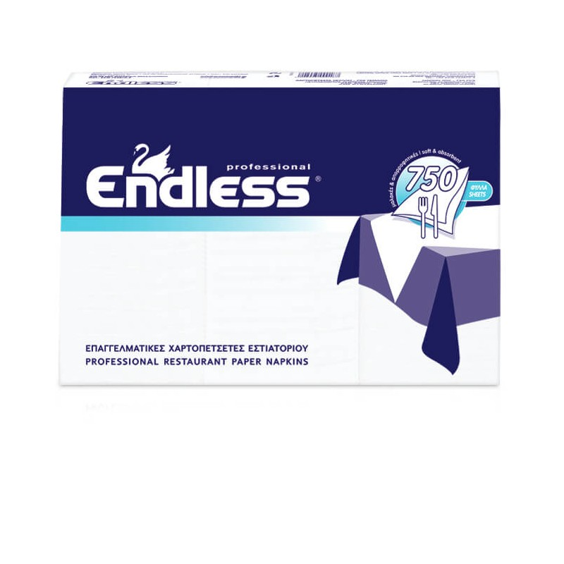 Endless Restaurant Napkins Soft 750PCS 24X24 1100240001 5202995000187